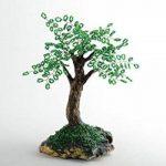 Petit arbre artificiel en perles de rocaille japonaises fait main decoratif de la marque Madeheart image 1 produit