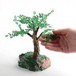 Petit arbre artificiel en perles de rocaille japonaises fait main decoratif de la marque Madeheart image 4 produit