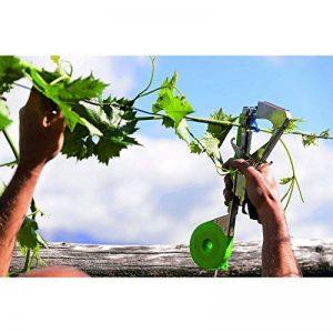 Pince legatrice à ruban pour opérations d'attache sur chaque type de plante. Utilisable avec rubans de différent épaisseur. Avec Façade chargement points, boîtier Ruban à couvercle avec ouverture. de la marque Stocker image 0 produit