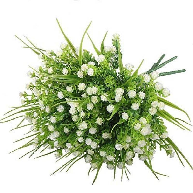 faux arbuste de gypsophile Amkun Plantes artificielles 4/pi/èces