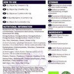 Protéines de Graines de Citrouille Bio en poudre - 250g (Certifiées Biologique) de la marque Indigo Herbs image 1 produit