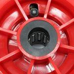 Roue de rechange pour diable professionnel - Petit chariot à sac H-T2046 (3.00-4) Roulement Ø 21 mm de la marque WilTec image 2 produit