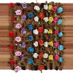 Rovtop Lot de 10 haarband avec couronne de fleurs Bandeau Bandeau Bandes de Cheveux de Fleurs avec bande élastique pour les femmes Fille Multicolore Fleurs de la marque Rovtop image 1 produit