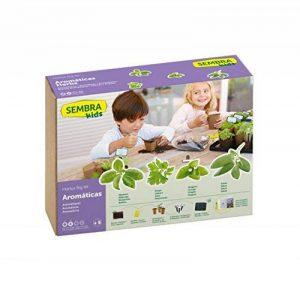 SEMBRA - Jeu Éducatif, Kit à faire pousse - Herbes aromatiques de la marque Sembra image 0 produit