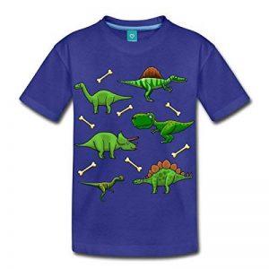 Spreadshirt Différents Dinosaures Et Os T-Shirt Enfant de la marque Spreadshirt image 0 produit