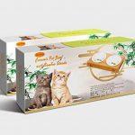 Tao King Chat Gamelles Céramique Set Avec Support bambou 2 x 0,25 l de la marque Tao King image 6 produit