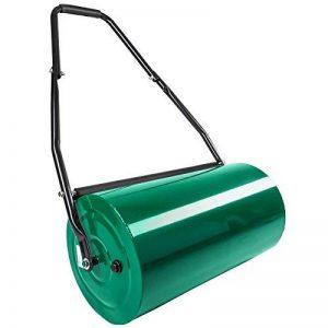 TecTake Rouleau à gazon jardin en métal avec poignée | largeur 60cm | Ø du rouleau : 31 cm | volume de remplissage : env. 50 L de la marque TecTake image 0 produit