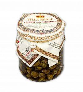 Villa Reale - Câpres Cucunci à la Paysanne 180 gr - Produit artisanal italien de la marque villa reale image 0 produit