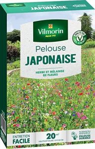 Vilmorin 4466812 Pelouse Japonaise Mel Fleurs Annuelles, Vert, 5.80 x 14.5 x 22 cm de la marque Vilmorin image 0 produit