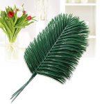 WINOMO feuilles tropicales, feuille de palmier artificielle feuilles de plantes pour maison mariage de décoration 10pcs de la marque WINOMO image 2 produit