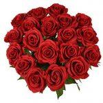 Yidarton 10 Bouquet de Fleurs Artificielles Roses PU Réel Tactile Pour Saint Valentin, Fête des Mères, Noël, Anniversaire, Mariage Decoration de la marque Yidarton image 1 produit